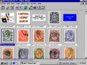 Photo software makes excellent virtual stamp albums