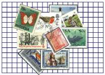 A virtual stamp packet