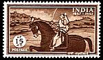 Equestrian philately