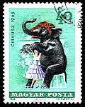 CIRCUS ANIMALS ON STAMPS