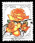 garden and flower philately