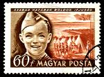 boy scouts on stamps