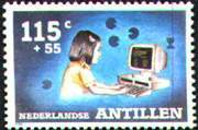 Virtual stamp collecting on computer